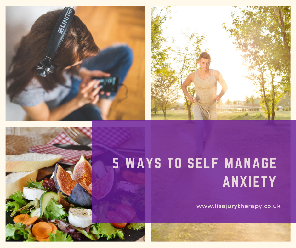 5 Ways to Self-Manage Anxiety